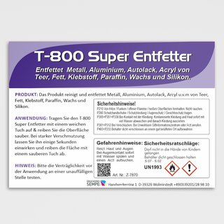T-800 Super Entfetter 50 ml